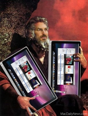 steve jobs like Moses